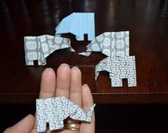 Origami elephants Qty.10