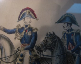 Vintage French Lithographs  , The Napoleonic War