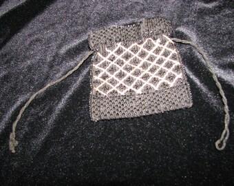 Art Deco purse , Flapper beaded Pouch , coin purse