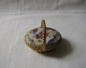 Max Factor Hypnotique Flower Basket Creme Perfume Compact