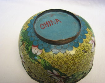 Antique Cloisonne Bowl China