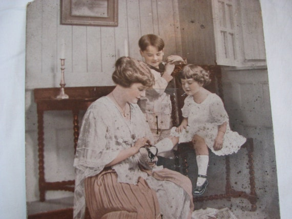 Advertsing Fan Children and Shoes 1900