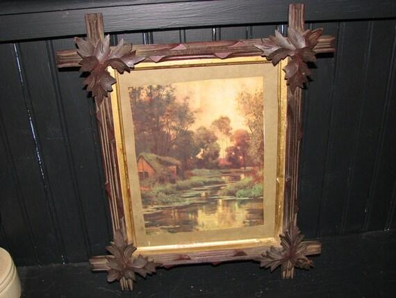 Adirondack Oak Leaf Framed Print