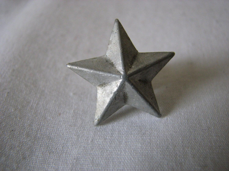 Italian Military Pin Aluminum Star Ww2