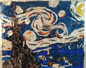 Starry Starry Night - made with soda pop cans - MetalArtXpressions
