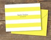 Lemon Luxe Note Card - Digital Download - Printable