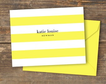 Lemon Luxe Note Card Printable