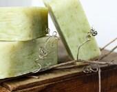 Country Mint  - Peppermint & Spearmint Soap - Cold Process Soap Bar - Handmade Vegan Soap - Bar Soap
