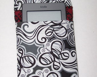 SALE--Tiger Print Butterfly E Reader Cover