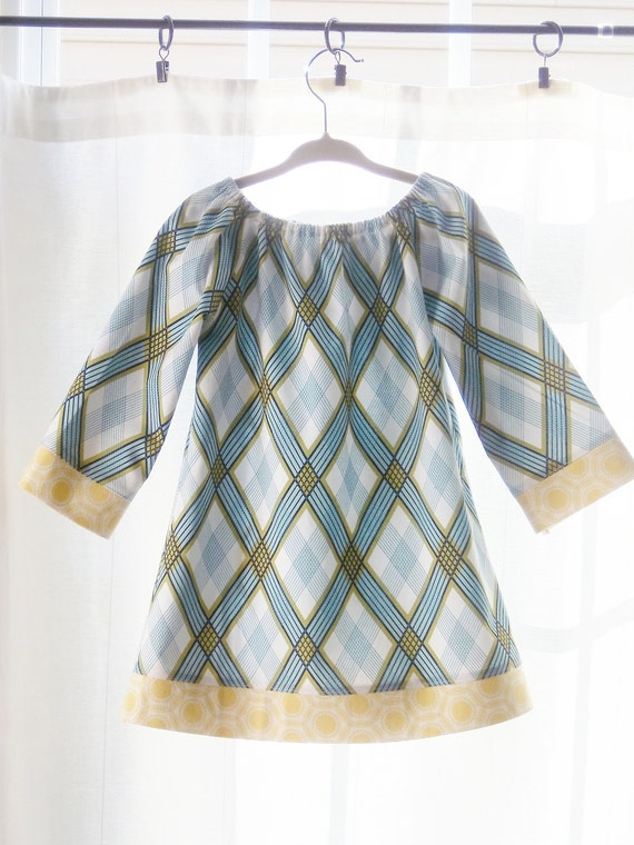 Clearance - Darling Plaid Dress - Size 2T - Ready to ship