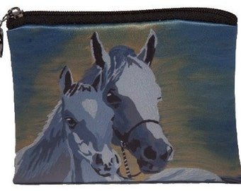 Horse Change Purse  - Taken from my orginal painting, A Mother's Love II - Salvador Kitti