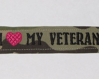 Army Name Tape Bracelet custom made for you