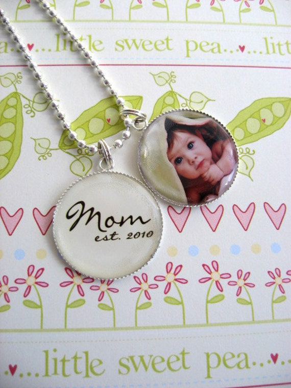 Custom Mother's Day Gift  - Photo Charm - New Mom Gift - Personalized - Great Gift for Grandma, Aunt, Godmother - Necklace