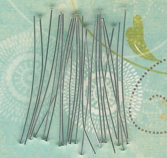 Low Close Out Price-100 piece pack-Silver Plated 1.5 inch Head Pins