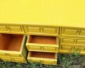 Sunshine Yellow Jewelry Box Trinket Box