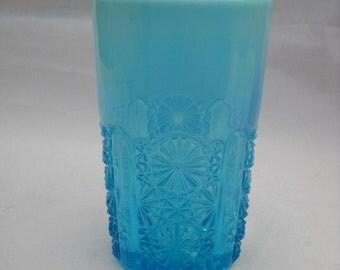EAPG Davidson Pearline Blue Tumbler