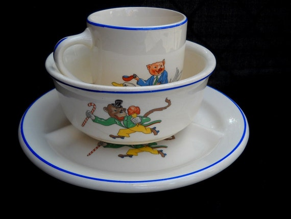 Crown Potteries Childs Set