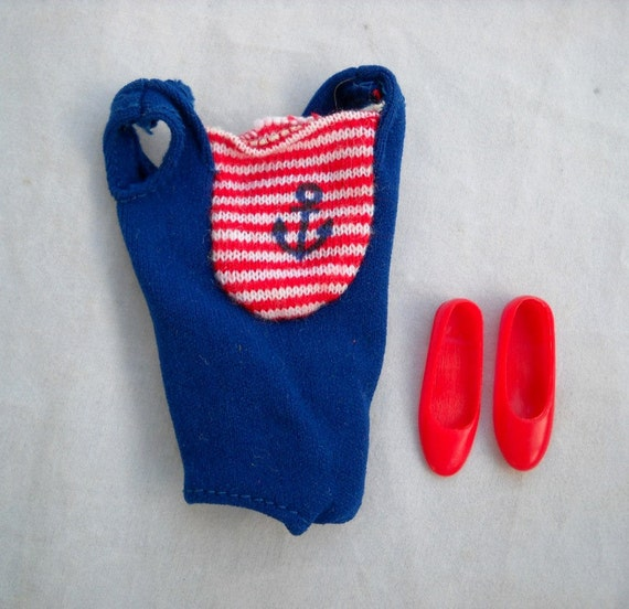 Skipper 1030 Swim Suit and Flats