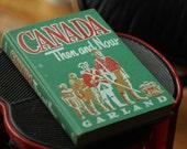 Canada: Then and Now - Vintage Grade School Book