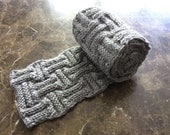 Double Basket Weave Scarf---Made to order---NEW Colors---