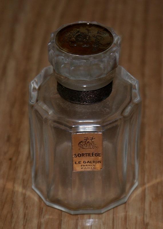 Collectible Perfume Bottle - Sortilege Le Galion - Paris France