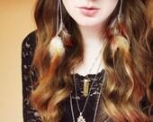 Shakti Fire Goddess Earrings