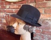 Vintage Fedora Cavanaugh Size 6 7/8