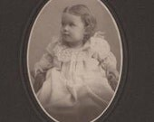 Little Amy Dell Luther, Cabinet Photograph