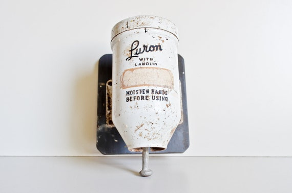 Luron Powder Hand Soap Dispenser By Dentwood On Etsy