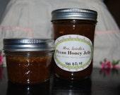 All-natural Homemade Pecan Honey Jelly, 8 oz