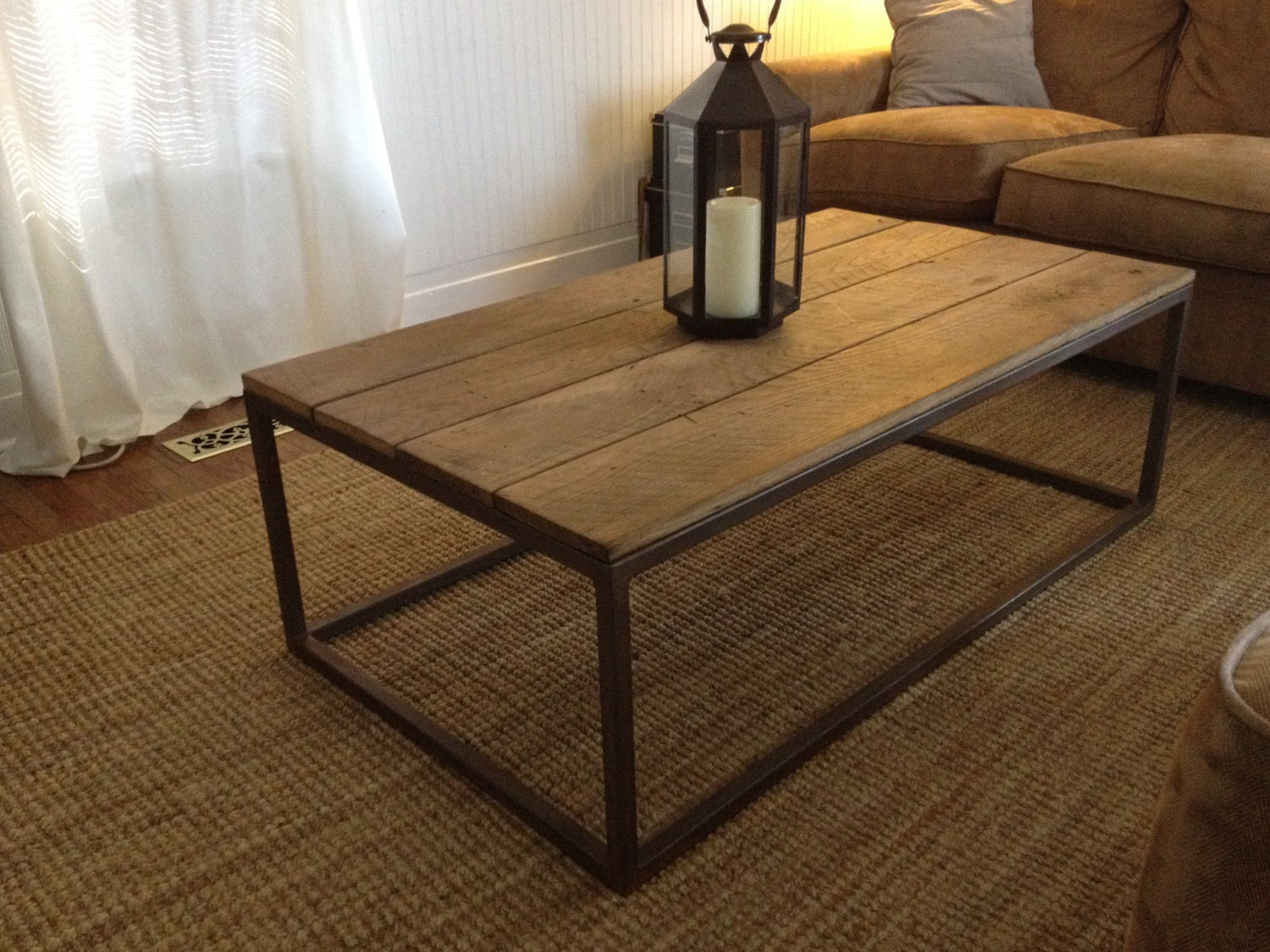 Dining Room Table Bases Wood Welded Base Coffee Table