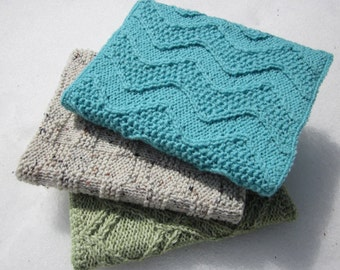 Custom-Made Handknit Bookcovers