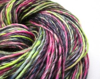 Vegan Bamboo Handspun Hand-dyed Knit Crochet Weave Yarn
