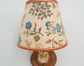 Charming Floral Lamp, Wall Sconce