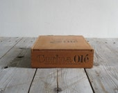 Vintage Wooden Cigar Box, Corina Ole Reserved for Whitney