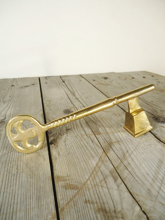 Brass Key Candle Snuffer