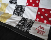 Add an Embroidered Name and/or Date to your Quilt or Outfit