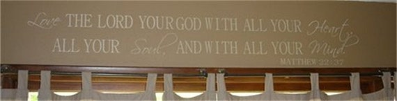 Love The Lord Your God With All Your Heart, All Your Soul, And ALL Your Mind