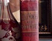 Victorian book Little Women and Good Wives