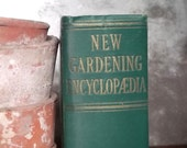 vintage gardening book New Gardening Encyclopaedia