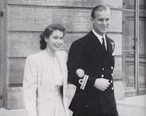 1940s Princess Elizabeth book Elizabeth and Philip