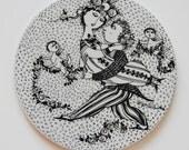 Bjorn Wiinblad plate - collectors item. Victoire - March