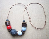 SALE - Red Eye Bauble Necklace