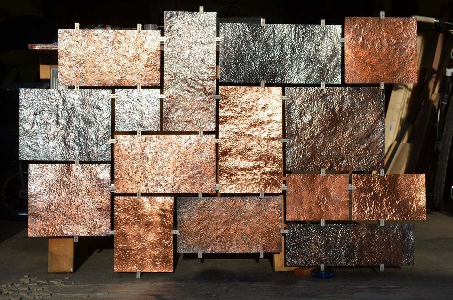 Copper Wall Decor 28+ [ copper walls ] | legion furniture copper wall tiles 15940227