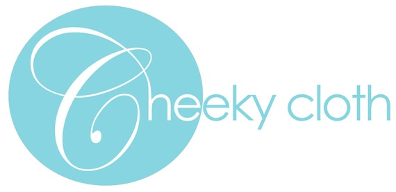 Cheeky Cloth One Size Organic Bamboo Fitted Diaper - Custom for Lori Fredette