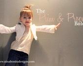 The Prim and Proper Bolero, PDF Pattern, Sizes Newborn-Girls' 14