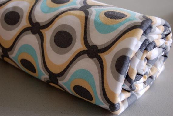 Baby Blanket - Toddler Blanket - Feeling Groovy