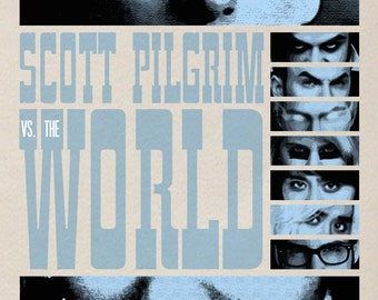 Scott Pilgrim vs. The World Film Poster 2