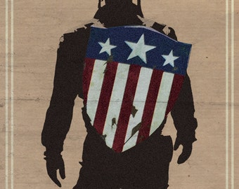 Captain America Film Poster