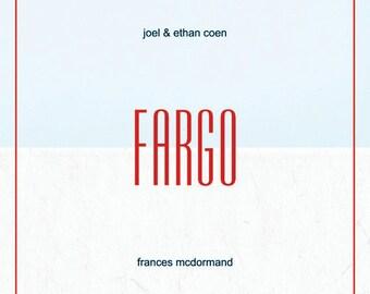 Fargo Minimalist Film Poster